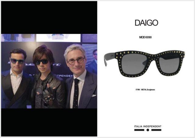 daigoさん愛用のサングラス