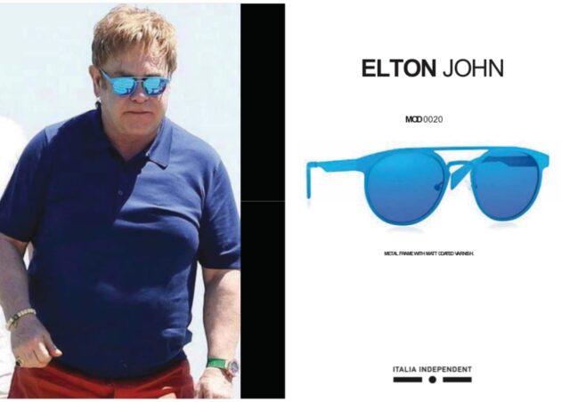 エルトン・ジョン愛用のサングラス