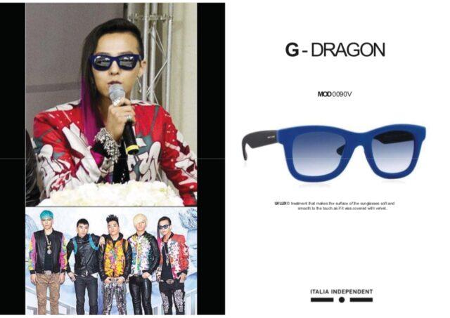 bigbang-g-dragonのサングラス