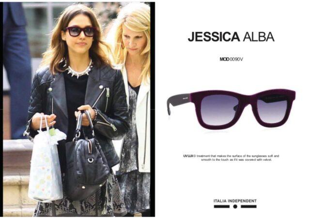 ジェシカ・アルバのサングラス