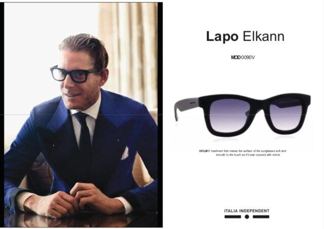 ラポ・エルカーンのサングラス