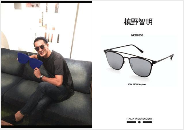 槙野智章さん愛用のサングラス