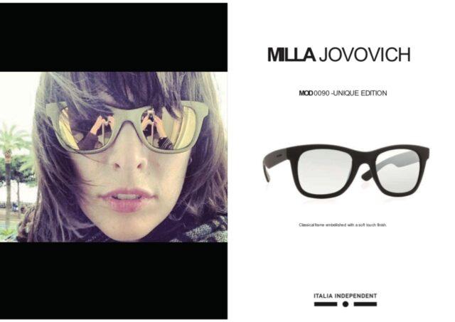ミラ・ジョボビッチのサングラス
