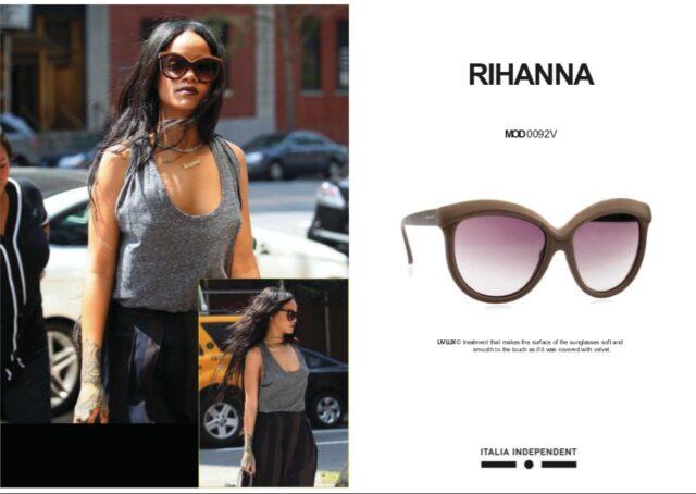 リアーナのサングラス