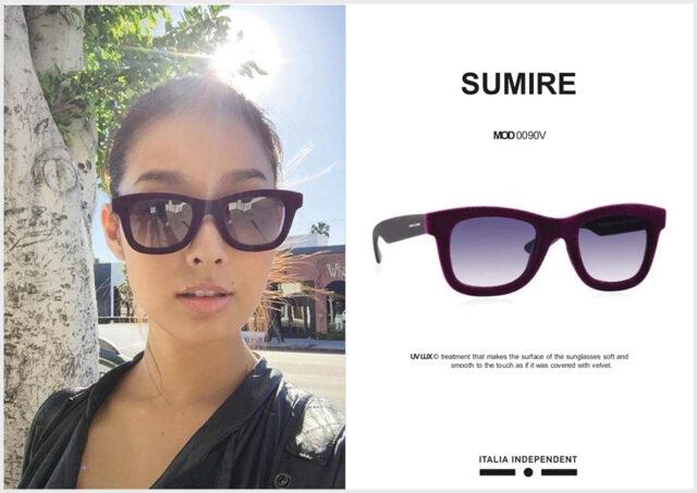 sumireさん愛用のサングラス